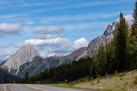 The Rocky Mountains of Alberta Canada