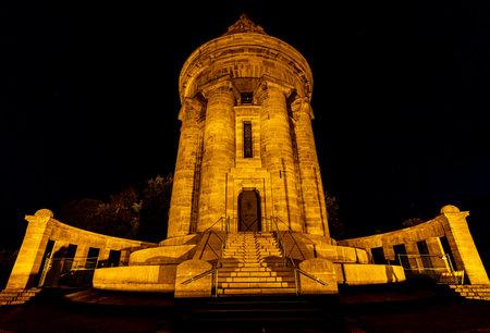 The Burschenschaft Monument of Eisenach in Germany