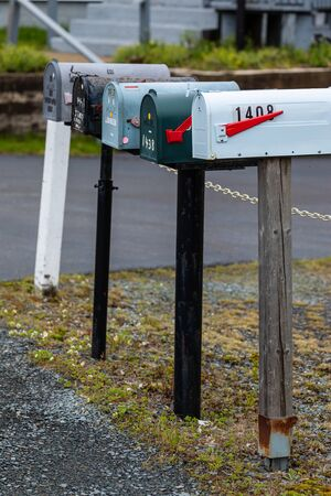 A tipical Canadian Mail Box