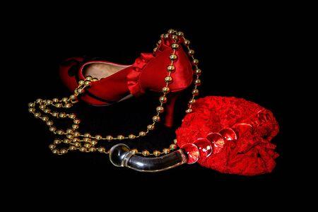 Erotic and on lingerie Фото со стока