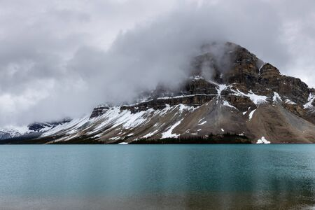 Lake Bow of Banff National Park in Canada