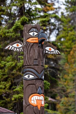 Totem Pole of the Canadian First Nations