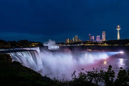 The view of the Niagara Falls