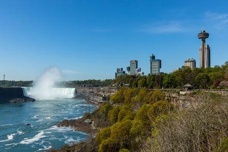 Der Blick auf die Niagarafälle
