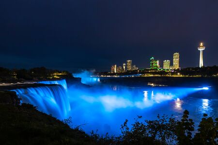 The view of the Niagara Falls