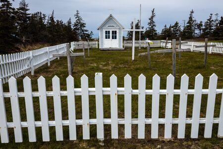 The Historical Site of Nova Scotia Stock Photo