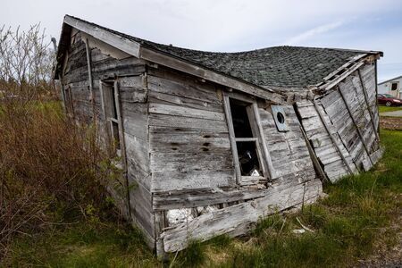 Abandoned House at the Countryside of Nova Scotia