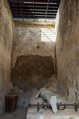 The historic Prison of Con Dao in Vietnam Archivio Fotografico