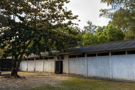The historic Prison of Con Dao in Vietnam