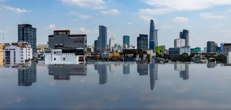 The City of Saigon or Ho Chi Minh in Vietnam