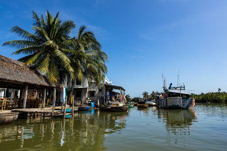 Palm tree village at Hoi An in Vietnam Reklamní fotografie