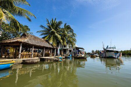 Palm tree village at Hoi An in Vietnam