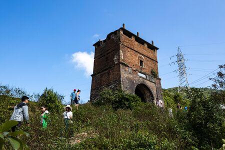 Bunker of the Vietnam War at the Hai Van Pass