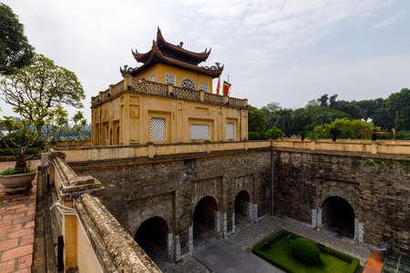 The citadel of Hanoi in Vietnam Standard-Bild