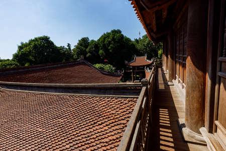 The Literature Temple of Hanoi in Vietnam