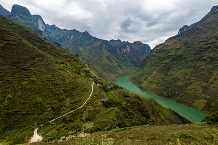 The Ma Pi Leng Gorge in Vietnam