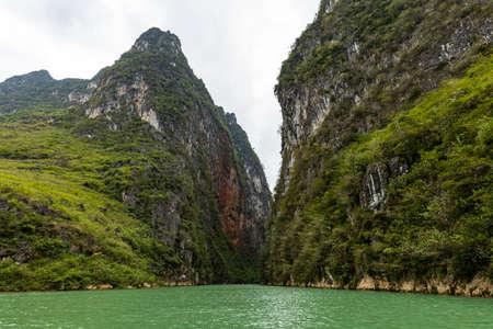The Ma Pi Leng Gorge in Vietnam Stock fotó