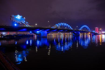 The Dragon Bridge of Da Nang in Vietnam