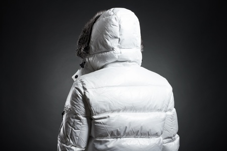 Portrait of the young man in a white jacket Stock Photo - 9380269