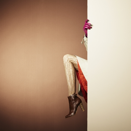 Picture of female legs in the inter.  Stock Photo - 15760583