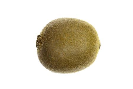 Kiwi fruit (chinese gooseberry) isolated on a white background