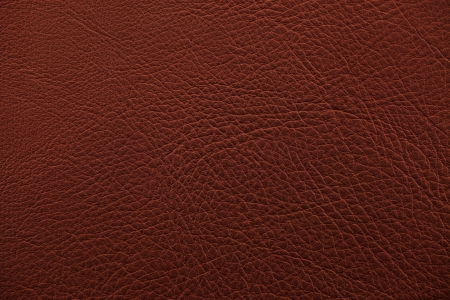 Brown nappa leather surface as background