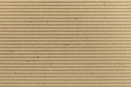 Brown corrugated cardboard texture