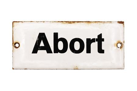 cartas antiguas: Antiguo placa WC esmaltado alem�n aisladas sobre fondo blanco Foto de archivo