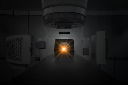 治療がんの医療線形加速 写真素材