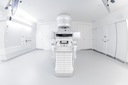 Advanced medical linear accelerator in the therapeutic oncology to treat patients with cancer