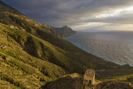 Greece, Dodecanese, Karpathos Island, Olympos.  this village,  in north of Karpathos is called the most beautiful village of Greece.