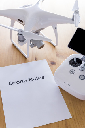 Drone and safe driving document