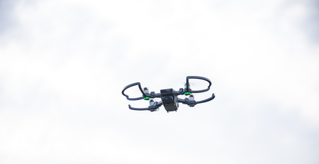 Small high performance drone flying