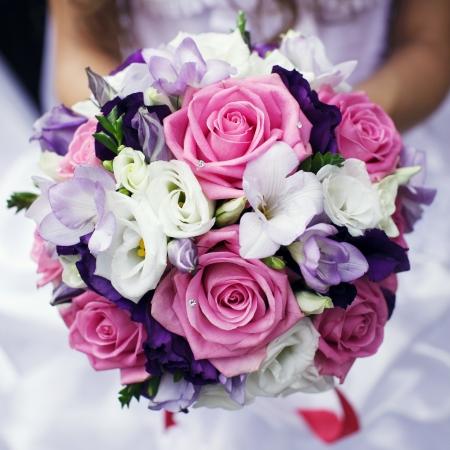 svatba: Svatební kytice Reklamní fotografie