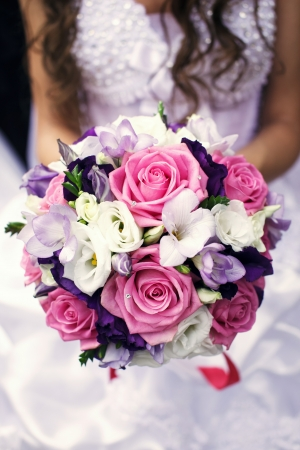 softness: Wedding bouquet