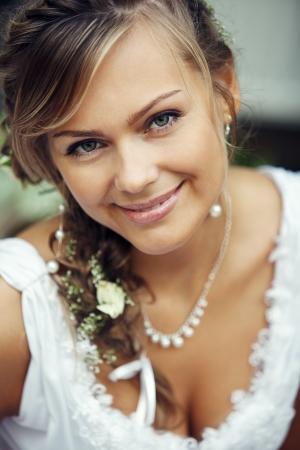 Bella sposa Archivio Fotografico