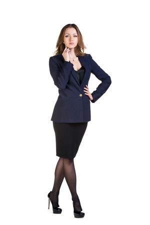 Attractive Young Businesswoman photo