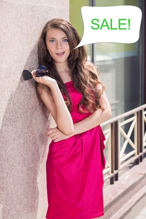 Shopagolic woman photo