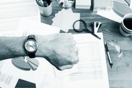 stop time: Concept of time and deadline at work