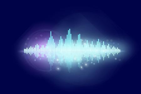 soundtrack: Disco sound wave design