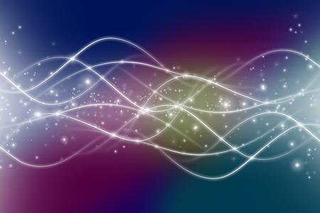 horizontal lines: Interacci�n din�mica de formas atractivas y l�neas sobre el tema de la moderna tecnolog�a, las comunicaciones, la energ�a, el movimiento y el espacio