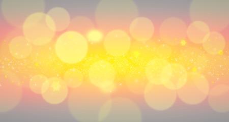 spot lit: Defocused spots with snowflakes. Christmas concept background.