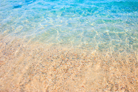 Crystal clear turquoise water near coastline. Reklamní fotografie