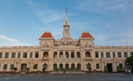 ville: Peoples commitee in Ho Chi Minh City was previously Hotel de Ville during the french era. Editorial