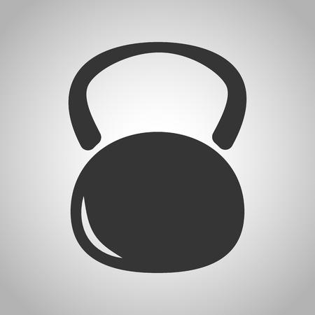stamina: Weight icon Illustration