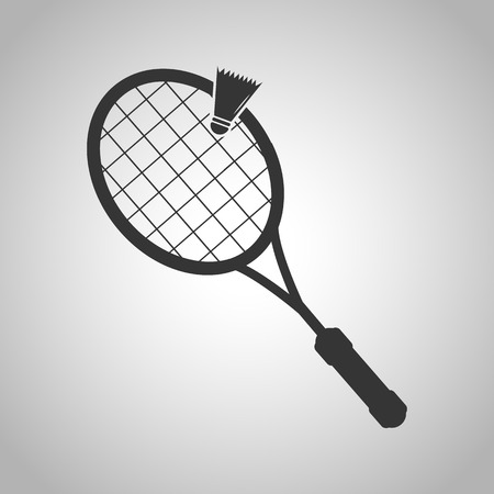 badminton racket: Badminton icon