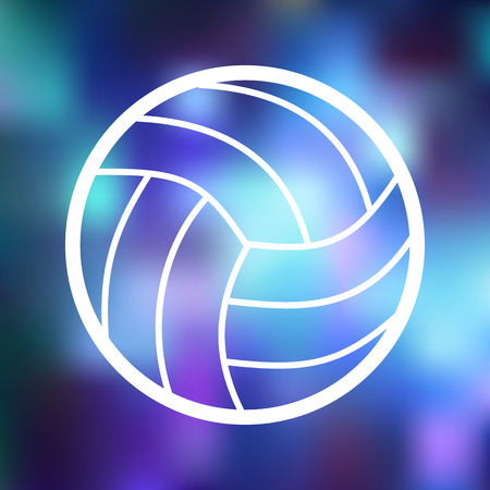 indoor sport: Volleyball icon