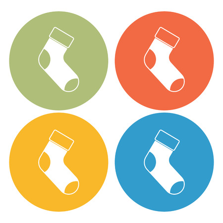 long socks: Stocking icon