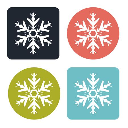 Sneeuwvlok pictogram