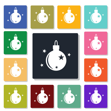 knickknack: Christmas tree toy icon